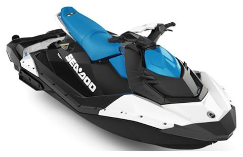 2020 Sea-Doo Spark 3up 90 hp iBR + Convenience Package in Danbury, Connecticut