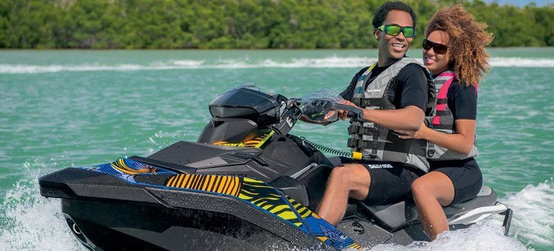 2020 Sea-Doo Spark 3up 90 hp iBR, Convenience Package + Sound System in Clinton Township, Michigan - Photo 5