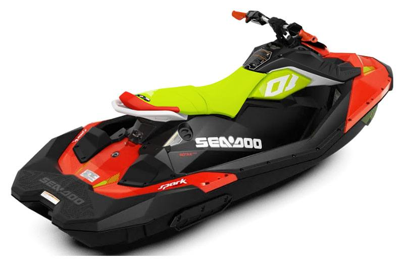 2020 Sea-Doo Spark Trixx 3up iBR + Sound System in San Jose, California - Photo 2