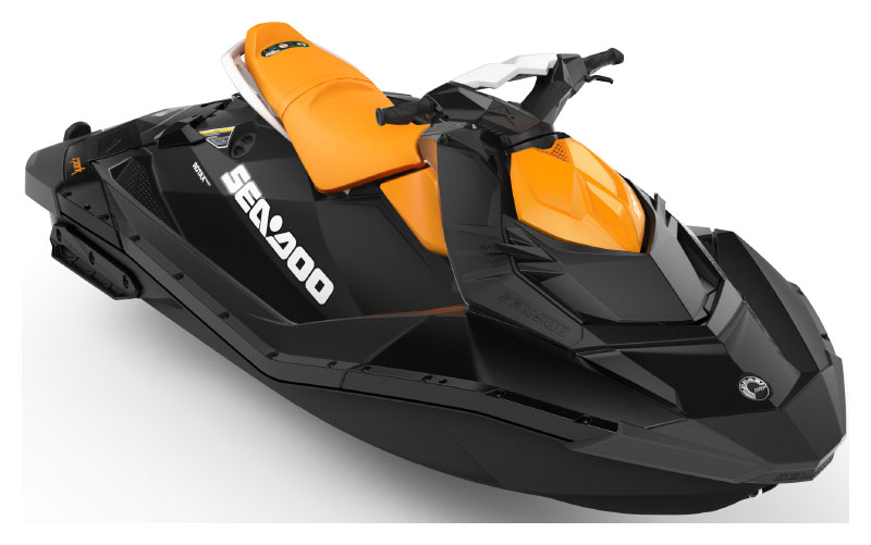 2021 Sea-Doo Spark 2up 90 hp iBR + Convenience Package in Waco, Texas - Photo 1