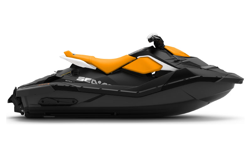2021 Sea-Doo Spark 2up 90 hp iBR + Convenience Package in Bakersfield, California - Photo 2