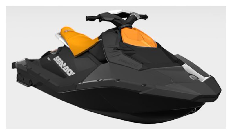 2021 Sea-Doo Spark 2up 90 hp iBR + Convenience Package in Merced, California