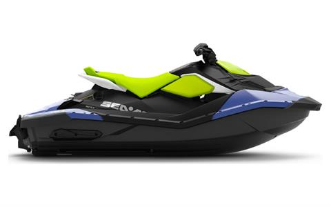 2021 Sea-Doo Spark 2up 90 hp iBR + Convenience Package in Cartersville, Georgia - Photo 2