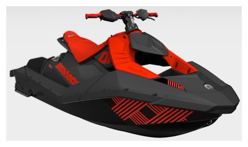 2021 Sea-Doo Spark Trixx 2up iBR + Sound System in Brenham, Texas