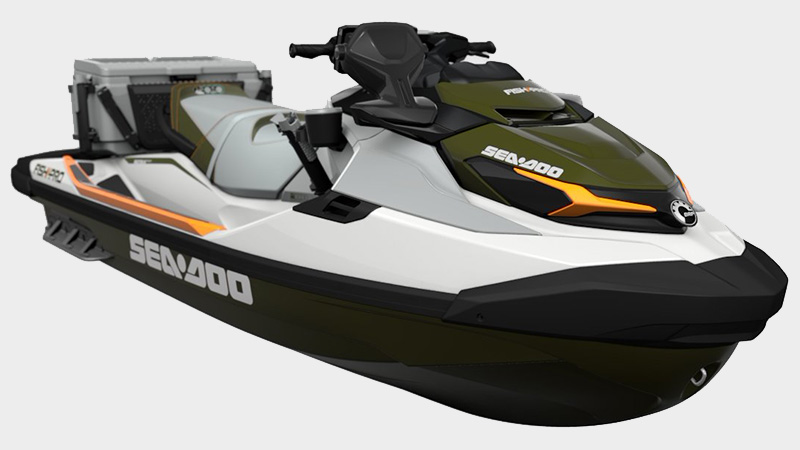 2021 Sea-Doo Fish Pro 170 iBR in Keokuk, Iowa