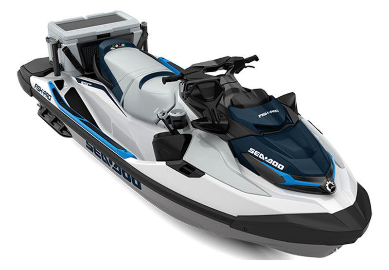2021 Sea-Doo Fish Pro 170 iBR + Sound System in Batavia, Ohio