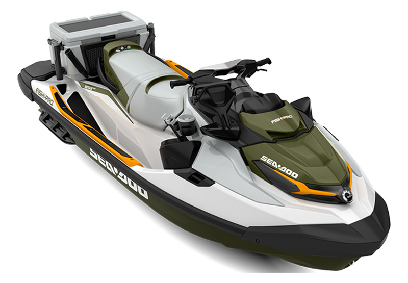 2021 Sea-Doo Fish Pro 170 iBR + Sound System in Morehead, Kentucky