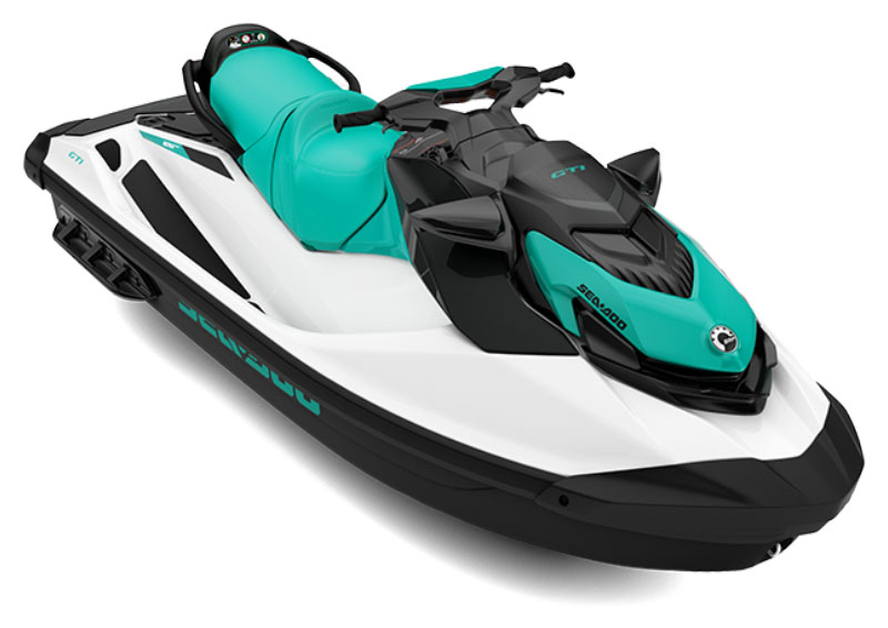 2021 Sea-Doo GTI 130 iBR in Ontario, California - Photo 1