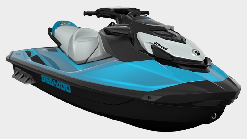 2021 Sea-Doo GTI SE 130 iBR in Presque Isle, Maine