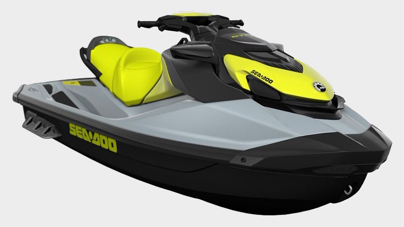 2021 Sea-Doo GTI SE 130 iBR in Clinton Township, Michigan