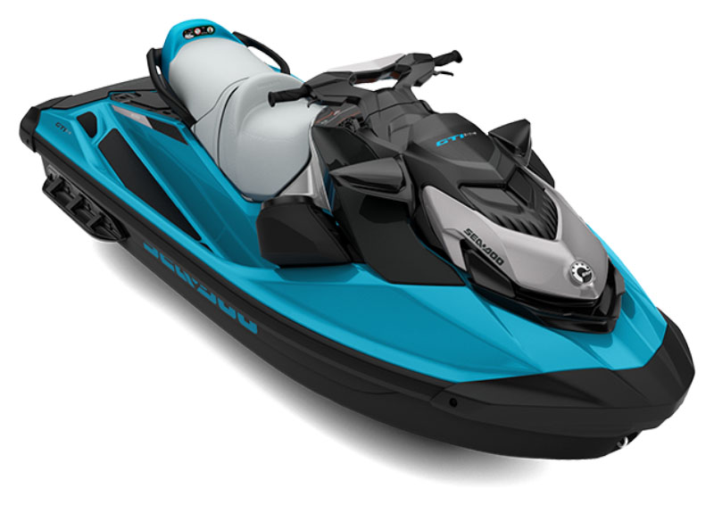 2021 Sea-Doo GTI SE 130 iBR + Sound System in Honeyville, Utah - Photo 1