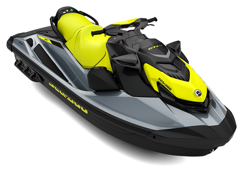 2021 Sea-Doo GTI SE 130 iBR + Sound System in Derby, Vermont
