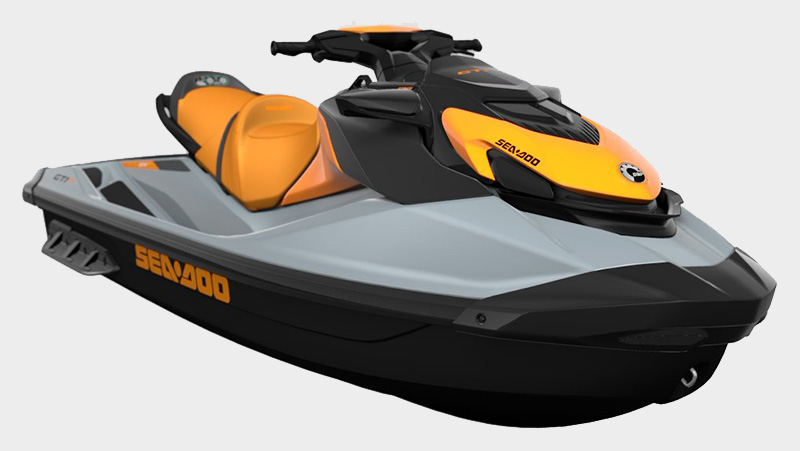 2021 Sea-Doo GTI SE 170 iBR in Grantville, Pennsylvania