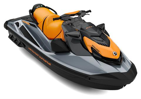2021 Sea-Doo GTI SE 170 iBR + Sound System in Island Park, Idaho