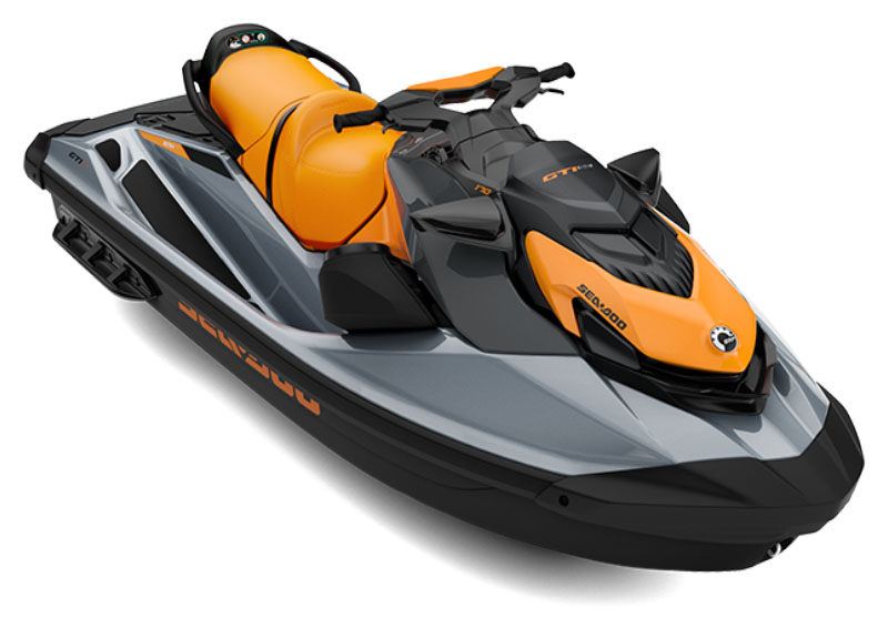 2021 Sea-Doo GTI SE 170 iBR + Sound System in Ontario, California - Photo 1
