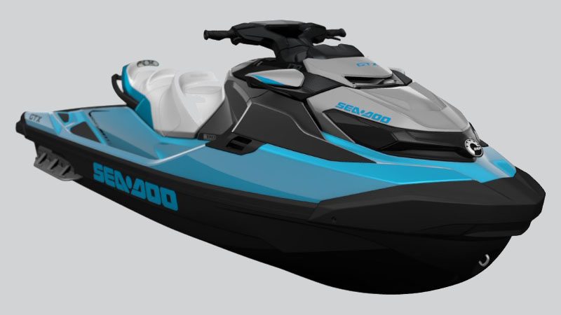 2021 Sea-Doo GTX 170 iBR in Derby, Vermont