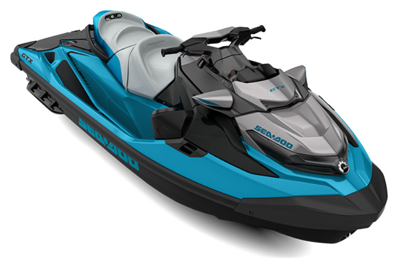 2021 Sea-Doo GTX 170 iBR + Sound System in Derby, Vermont
