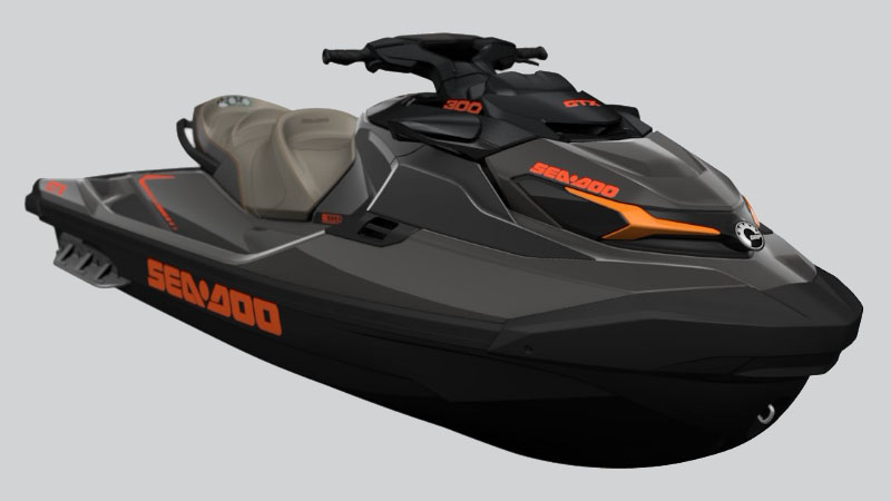 2021 Sea-Doo GTX 300 iBR in Dickinson, North Dakota - Photo 1