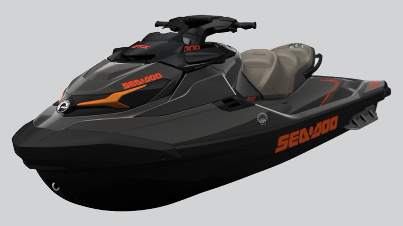 2021 Sea-Doo GTX 300 iBR in Mount Pleasant, Texas - Photo 2
