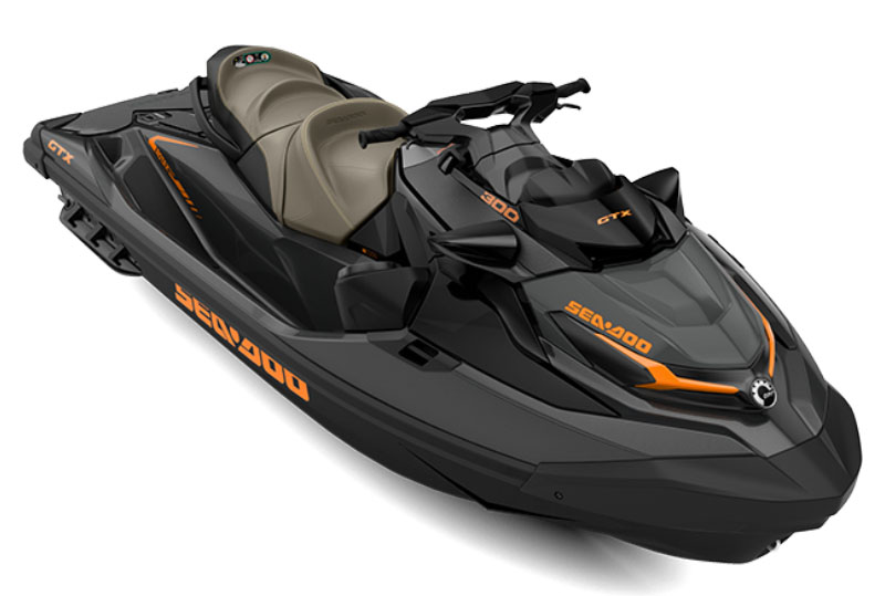 2021 Sea-Doo GTX 300 iBR + Sound System in Savannah, Georgia