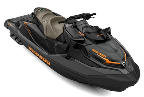 2021 Sea-Doo GTX 300 iBR + Sound System in Wilmington, Illinois