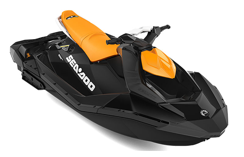 2021 Sea-Doo Spark 3up 90 hp in Hillman, Michigan
