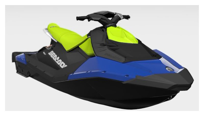 2021 Sea-Doo Spark 3up 90 hp iBR + Convenience Package in Sully, Iowa