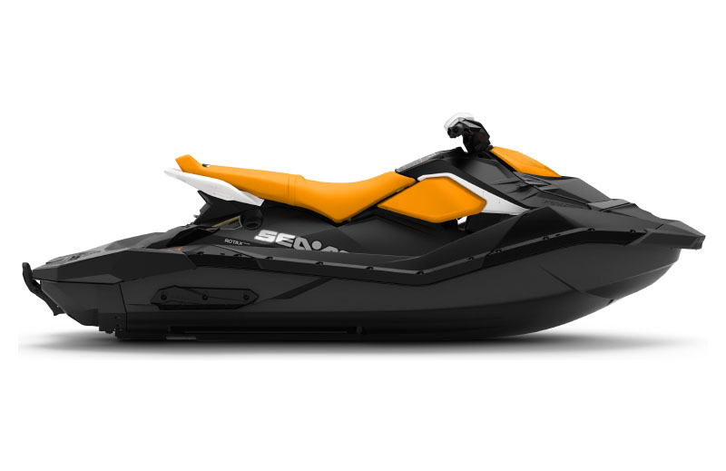 2021 Sea-Doo Spark 3up 90 hp iBR + Convenience Package in Cohoes, New York - Photo 2