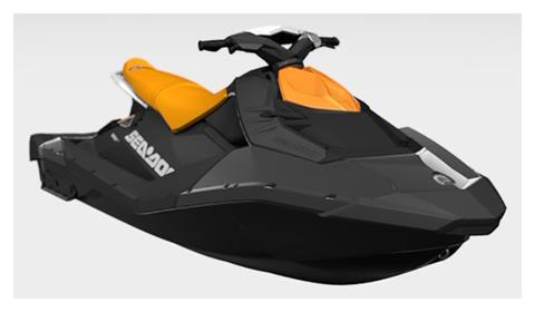 2021 Sea-Doo Spark 3up 90 hp iBR + Convenience Package in Freeport, Florida