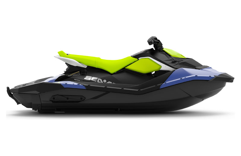 2021 Sea-Doo Spark 3up 90 hp iBR + Convenience Package in Clinton Township, Michigan - Photo 2