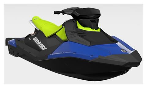 2021 Sea-Doo Spark 3up 90 hp iBR, Convenience Package + Sound System in Augusta, Maine