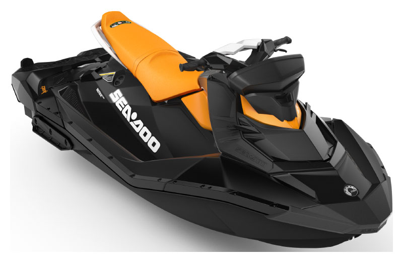 2021 Sea-Doo Spark 3up 90 hp iBR, Convenience Package + Sound System in Hillman, Michigan - Photo 1