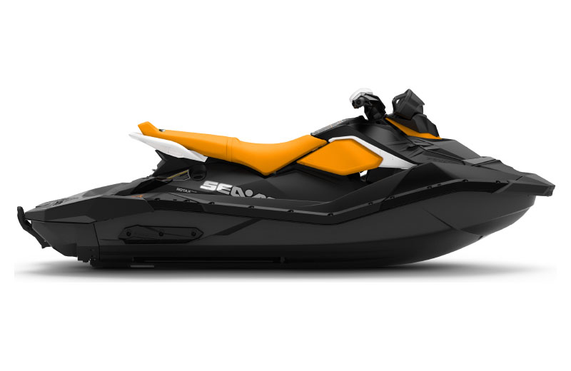 2021 Sea-Doo Spark 3up 90 hp iBR, Convenience Package + Sound System in Hillman, Michigan - Photo 2