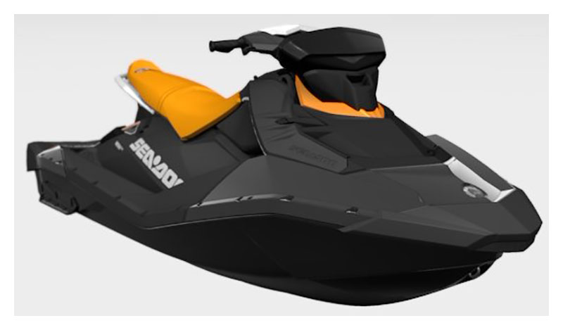 2021 Sea-Doo Spark 3up 90 hp iBR, Convenience Package + Sound System in Freeport, Florida