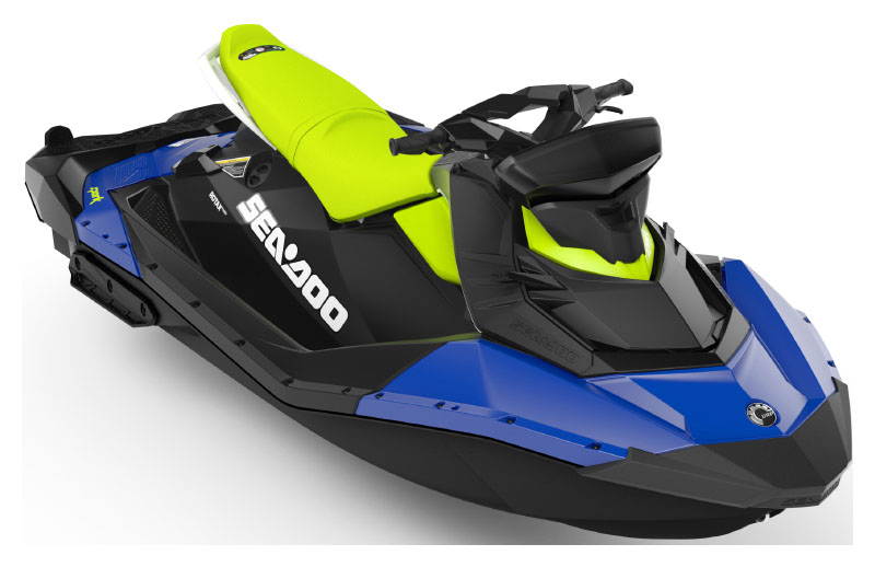 2021 Sea-Doo Spark 3up 90 hp iBR, Convenience Package + Sound System in Tulsa, Oklahoma - Photo 1