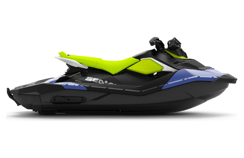 2021 Sea-Doo Spark 3up 90 hp iBR, Convenience Package + Sound System in Woodinville, Washington - Photo 2