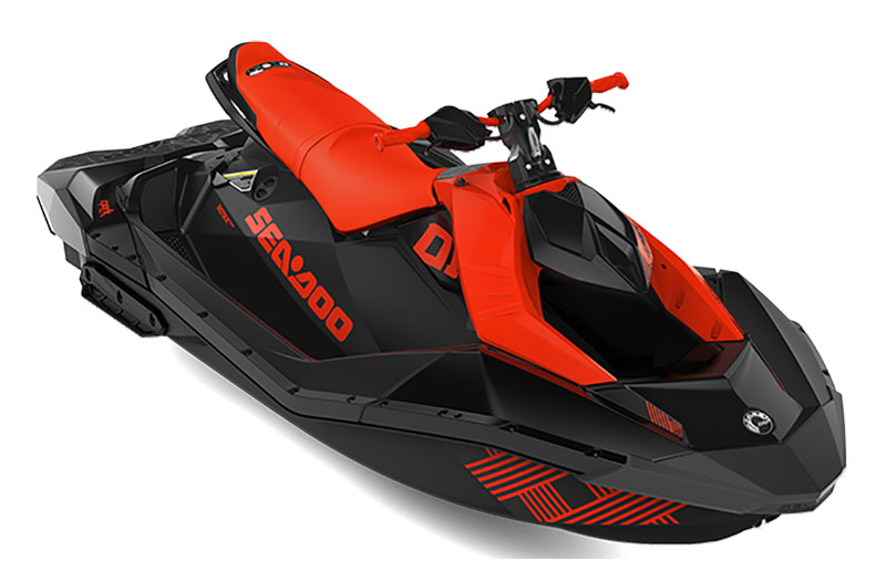 2021 Sea-Doo Spark Trixx 3up iBR in Brenham, Texas