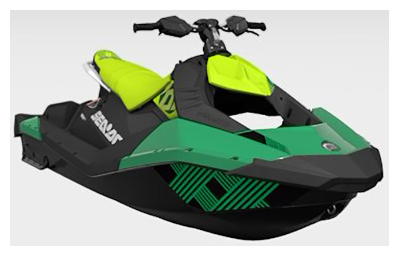 2021 Sea-Doo Spark Trixx 3up iBR in Middletown, Ohio