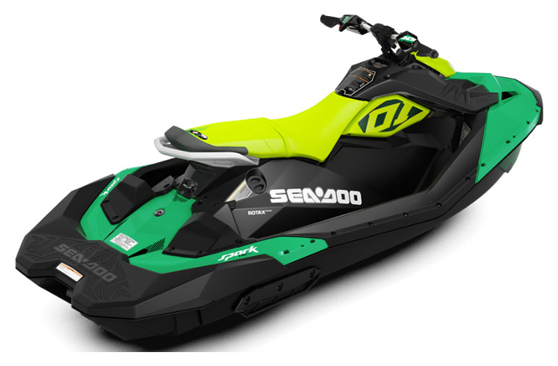 2021 Sea-Doo Spark Trixx 3up iBR + Sound System in Tyler, Texas - Photo 2
