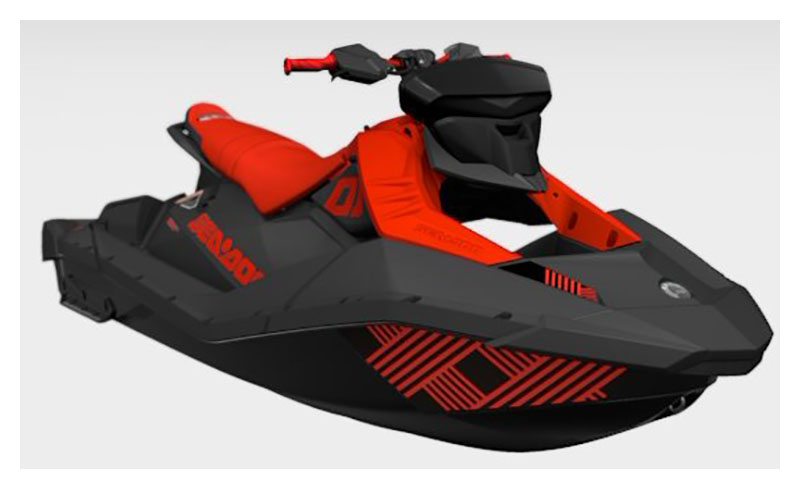 2021 Sea-Doo Spark Trixx 3up iBR + Sound System in Grimes, Iowa