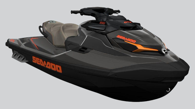 2021 Sea-Doo GTX 230 iDF + Sound System in Mount Pleasant, Texas