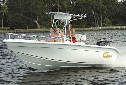 2015 Sea Chaser 2100 RG in Madisonville, Louisiana