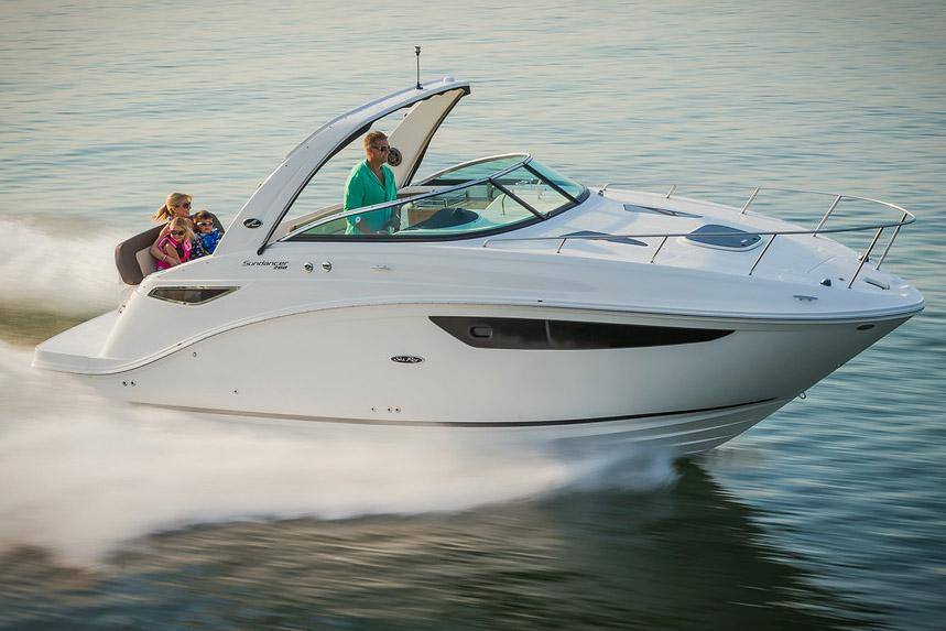 New 2018 Sea Ray Sundancer 260 Power Boats Inboard In Holiday Fl
