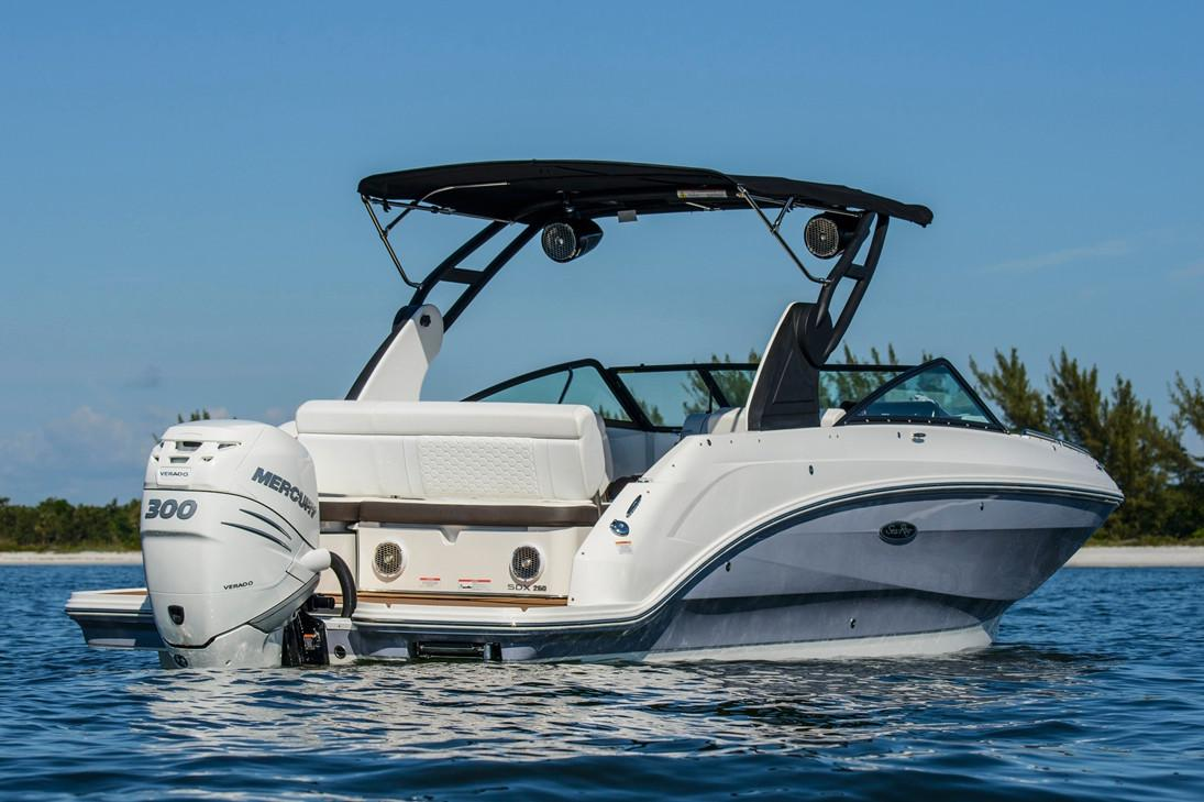 2018 Sea Ray SDX 250 Outboard in Holiday, Florida