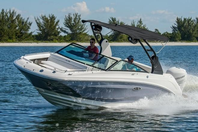 2019 Sea Ray SDX 250 Outboard in Holiday, Florida
