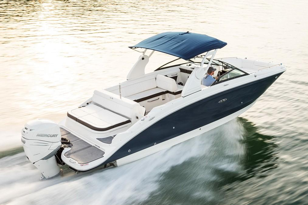 2019 Sea Ray SDX 270 Outboard in Holiday, Florida