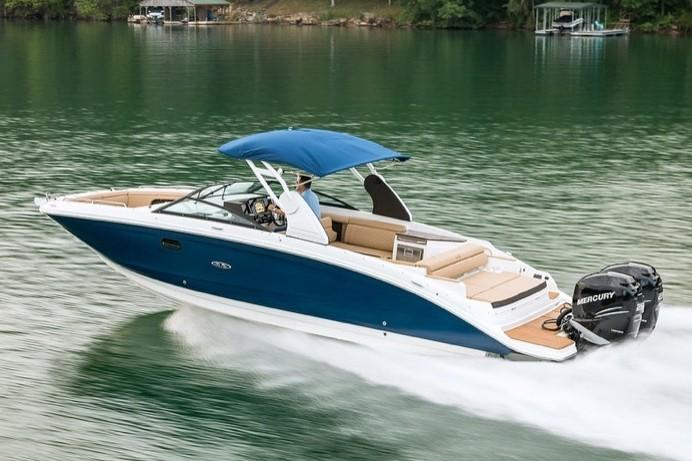 2019 Sea Ray SDX 290 Outboard in Holiday, Florida - Photo 4
