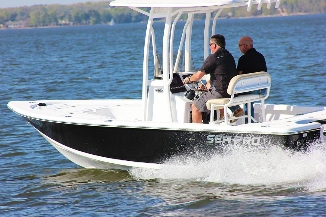 2018 Sea Pro 208 Bay in Greenville, North Carolina