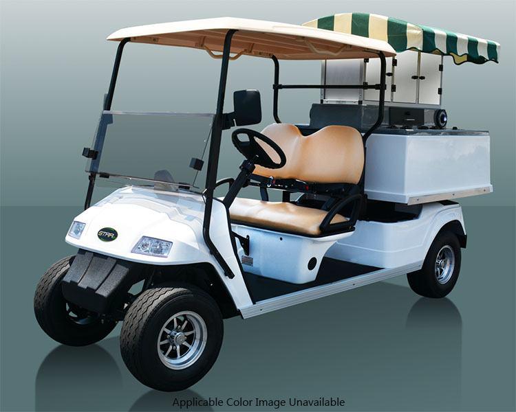 2017 Star Ev Classic Hd 48 2hcx Beverage Cart Electric Golf Carts