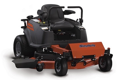 2013 Simplicity ZT1500 Zero Turn Mower in Beaver Dam, Wisconsin